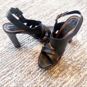 Marni Leather Platform Heels